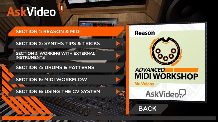 Adv MIDI Course For Reason