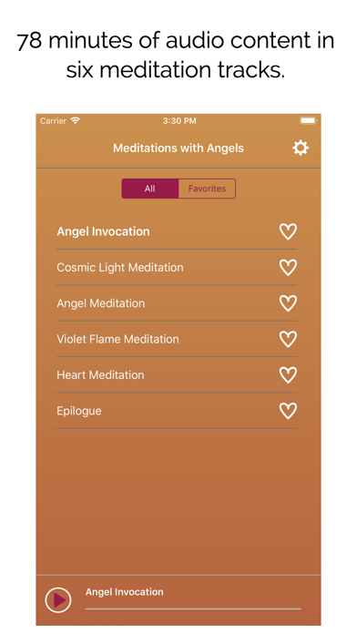 Meditations With Angels screenshot 2