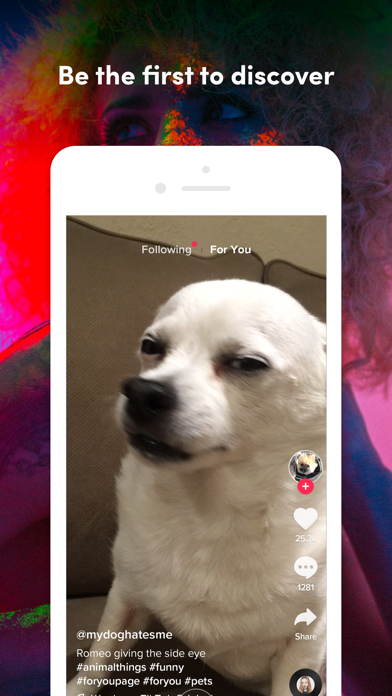 Screenshot of TikTok - Make Your Day App