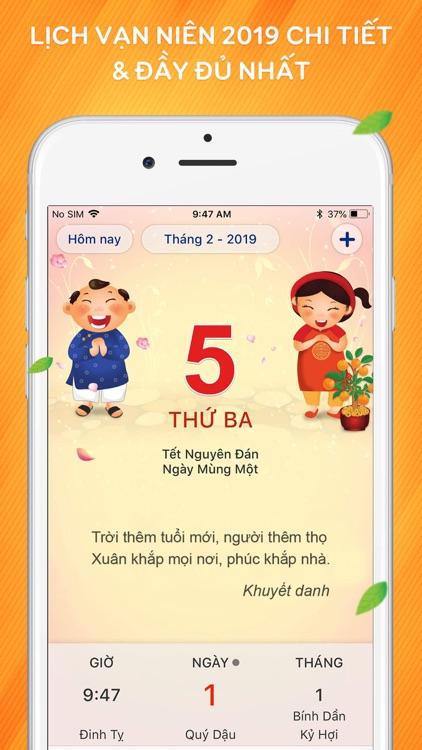 Lich Van Nien 2019 : Lich Viet screenshot-0
