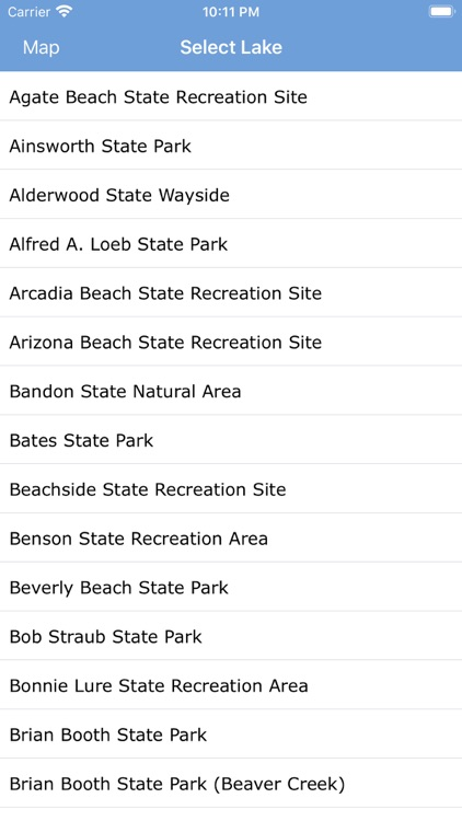 Oregon State Parks & Areas screenshot-3
