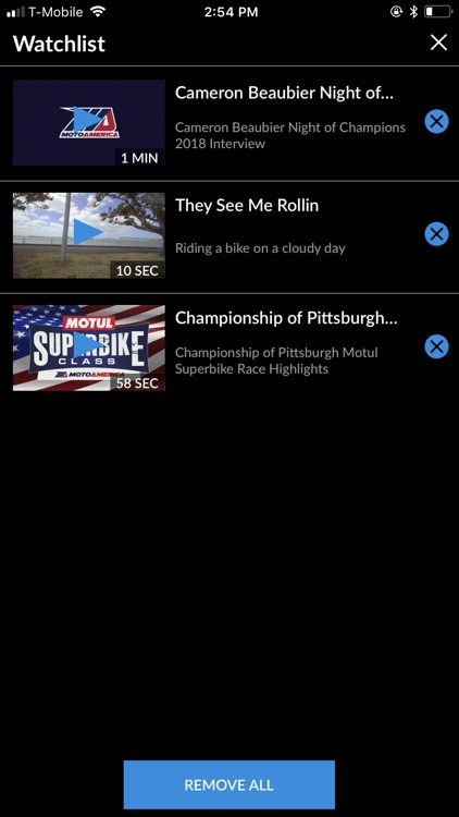 MotoAmerica Live+ screenshot-2