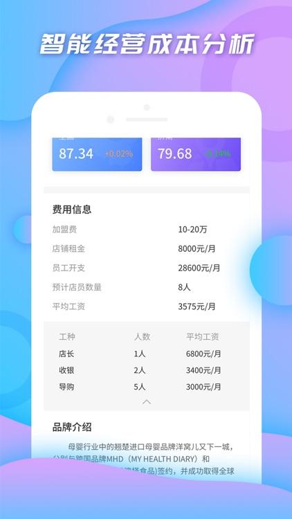 小料开店-轻松创业做生意 screenshot-5