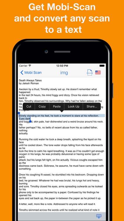 Mobi-Scan: PDF Scanner App screenshot-4