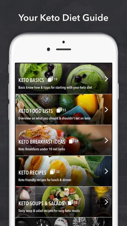 Keto diet & Ketogenic recipes screenshot-0