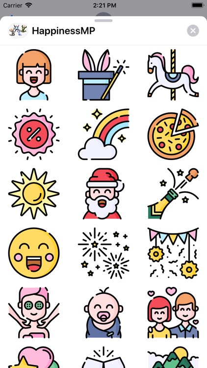 HappinessMP Sticker