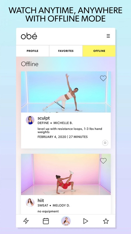 obé Fitness: Live & On-Demand screenshot-6