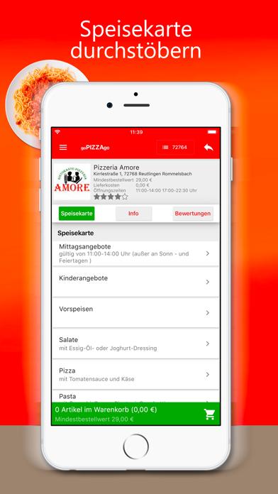 goPIZZAgo - Essen bestellen screenshot 4