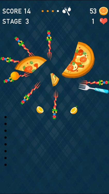 Knife Dash: Hit To Crush Pizza