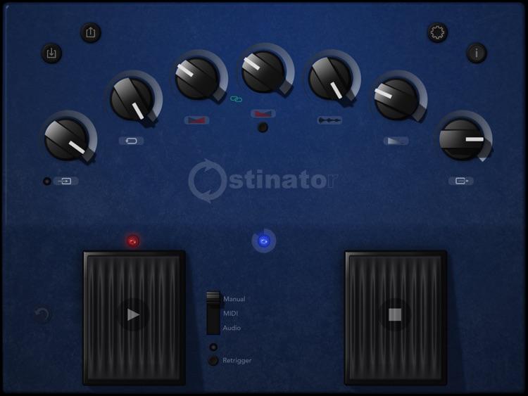 Ostinator-looper,sampler