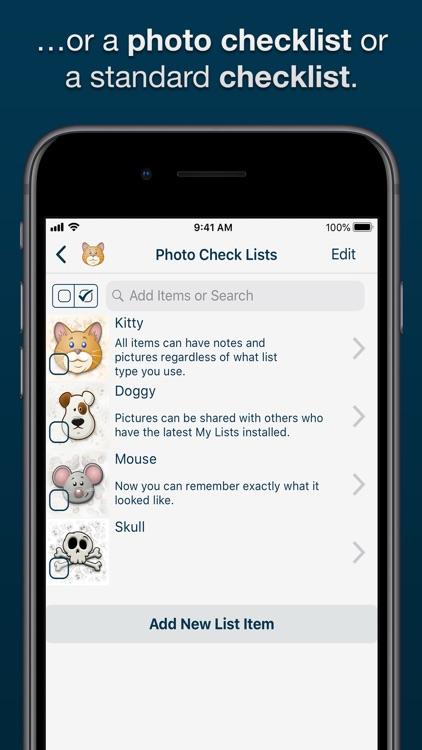My Lists screenshot-4