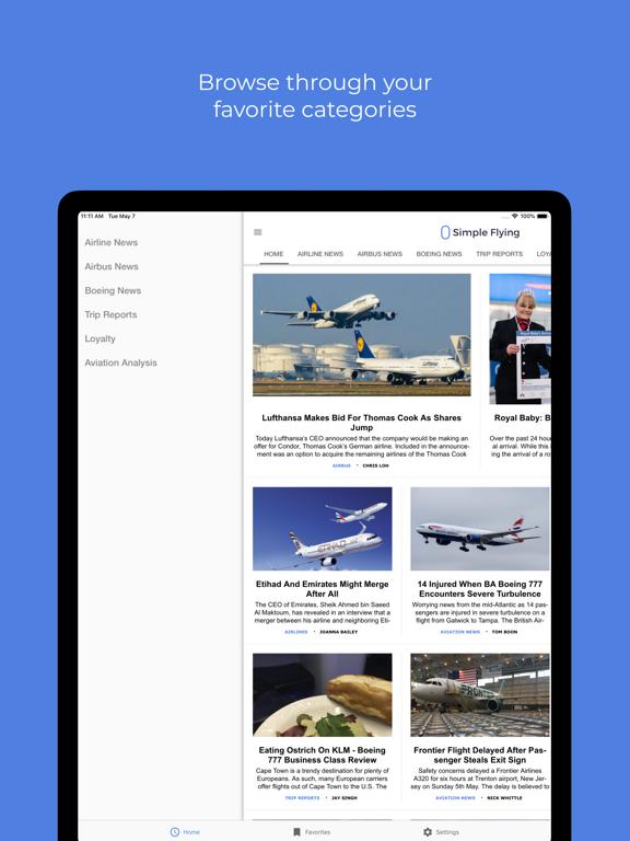 Simple Flying - Aviation News screenshot