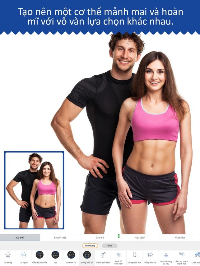 Retouch Men: cơ thể & cơ bắp