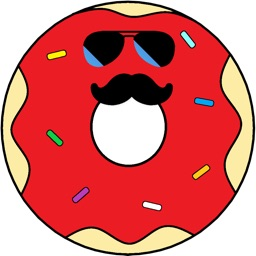 Powder Donut Co Stickers