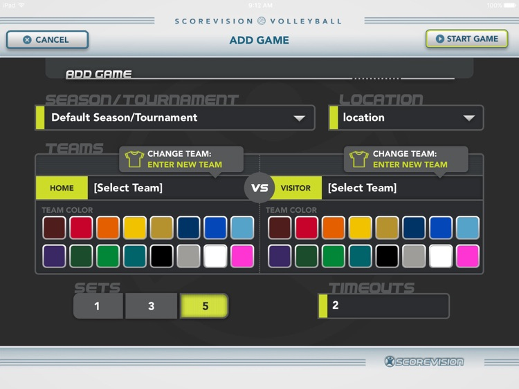 ScoreVision Volleyball screenshot-0
