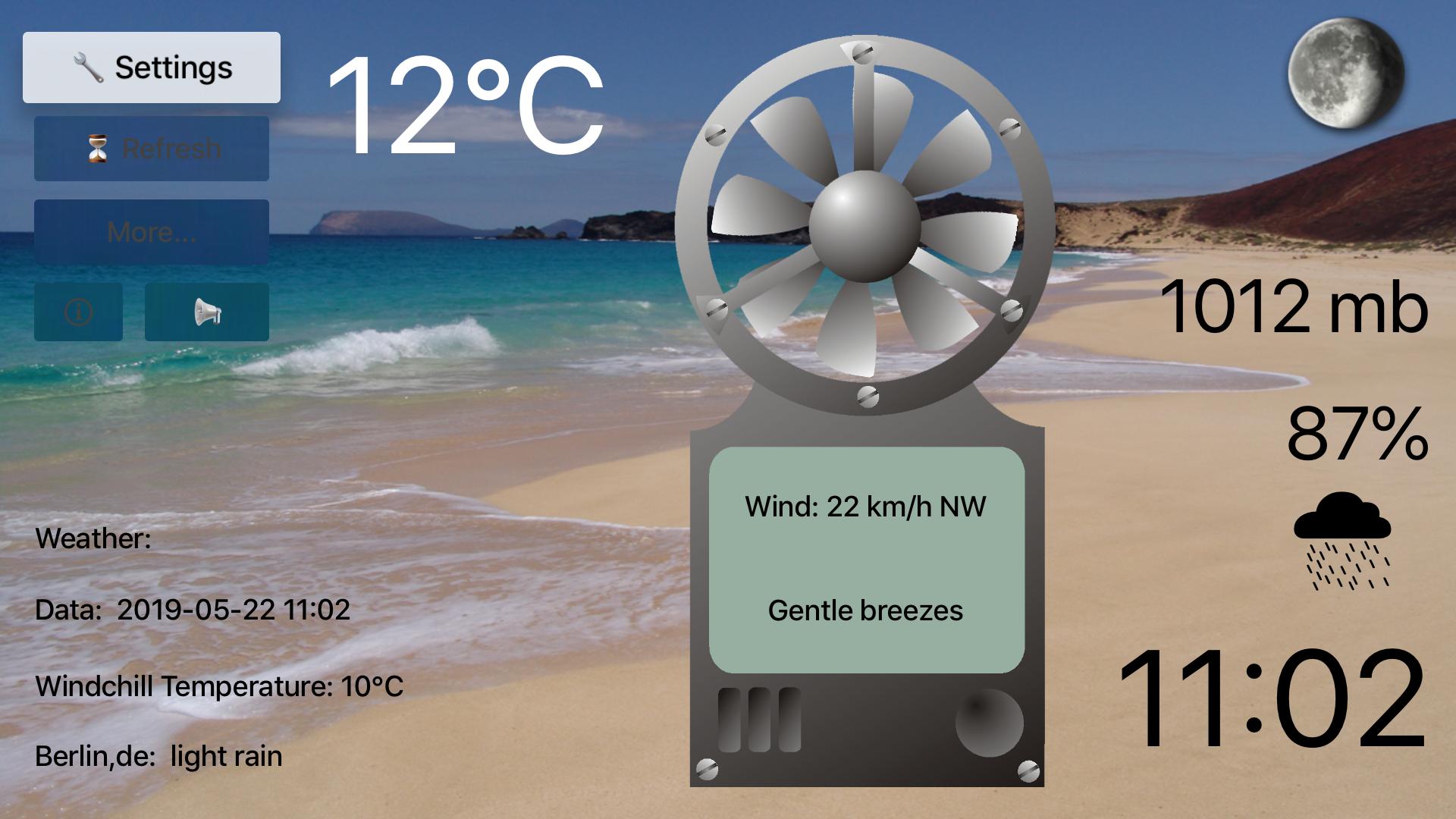 TV Anemometer screenshot 1
