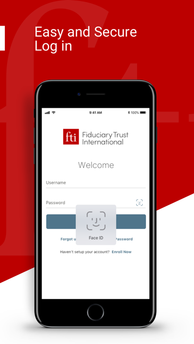 Fiduciary Trust International screenshot #1
