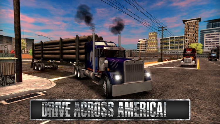 Truck Simulator USA screenshot-1