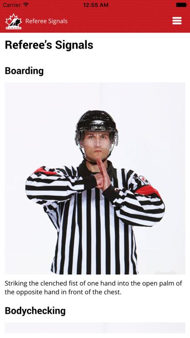 Screenshot for Hockey Canada Rule Book in Canada App Store