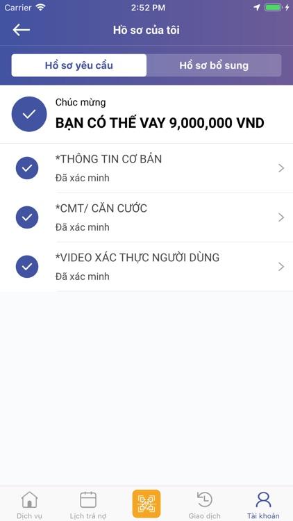 Fiin - Vay tiền, Cho vay tiền screenshot-4