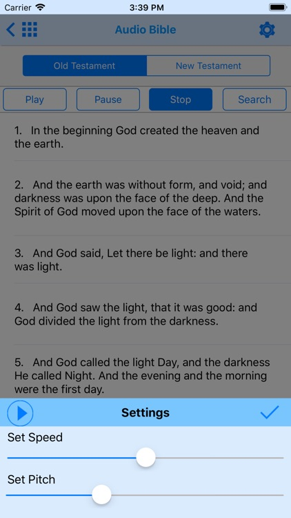 Holy Bible Offline for iPhone screenshot-3