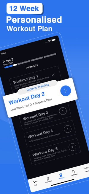 Home Workout by Fit5 Apps Screenshot