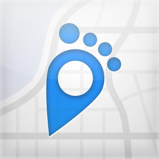 フットパス・ルートメーカー・地図をなぞって 距離測定