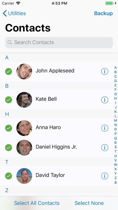 ContactsXL Screenshots