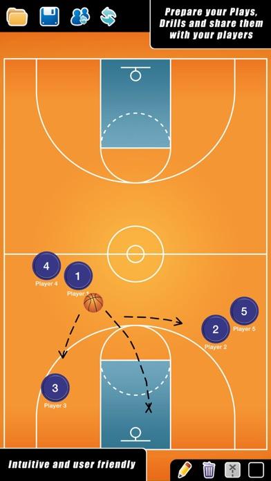 Screenshot for Coach Tactic Board: Basket in Ukraine App Store