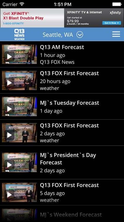 Q13 News - Seattle Weather screenshot-4