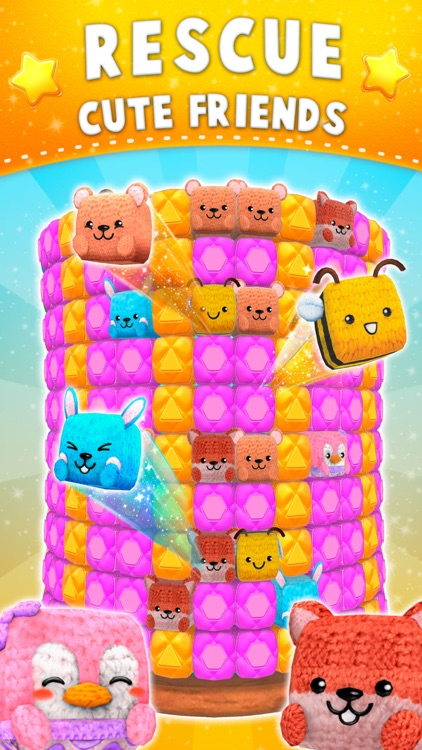 Wooly Blast: Top match-3 game screenshot-2