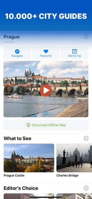 Sygic Travel Maps Offline Screenshot