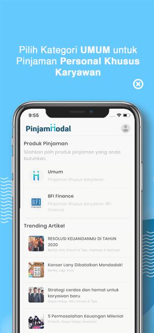 Pinjam Modal On The App Store