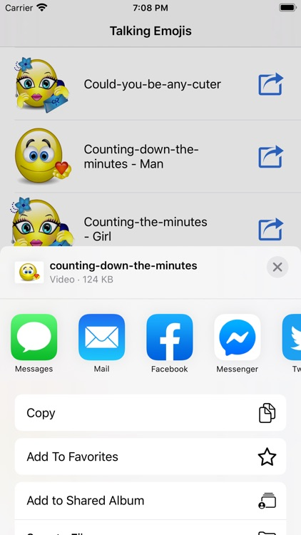 Talking Emojis for Texting screenshot-2