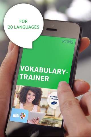 PONS Vocabulary Trainer - náhled