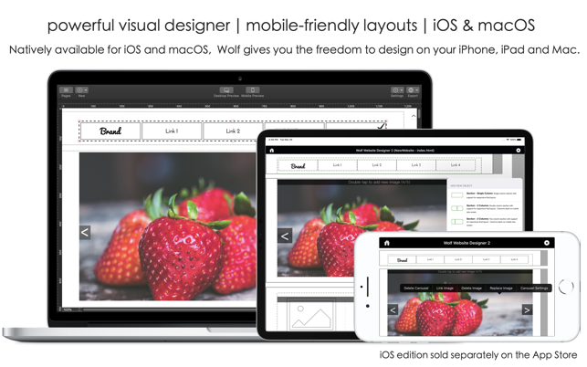 Wolf 2 Responsive Designer On The Mac App Store