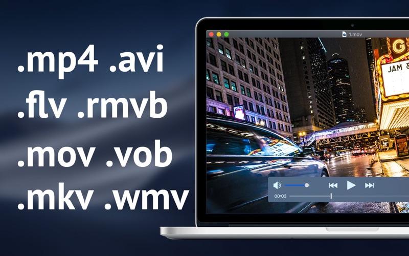 亿播影音 - 4k视频,极速高清 for Mac