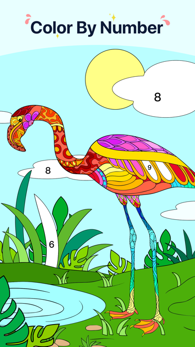 Star Coloring Pages by Number