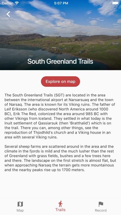 Greenland GPS screenshot-4