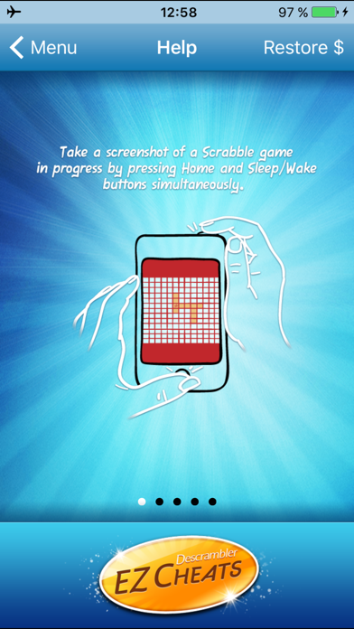EZ Descrambler Cheats for Scrabble® and Words with Friends screenshot
