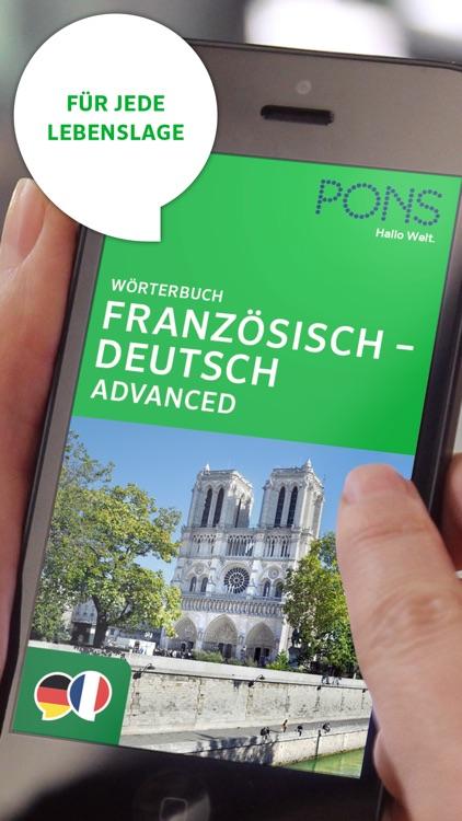 Wörterbuch Französisch screenshot-0