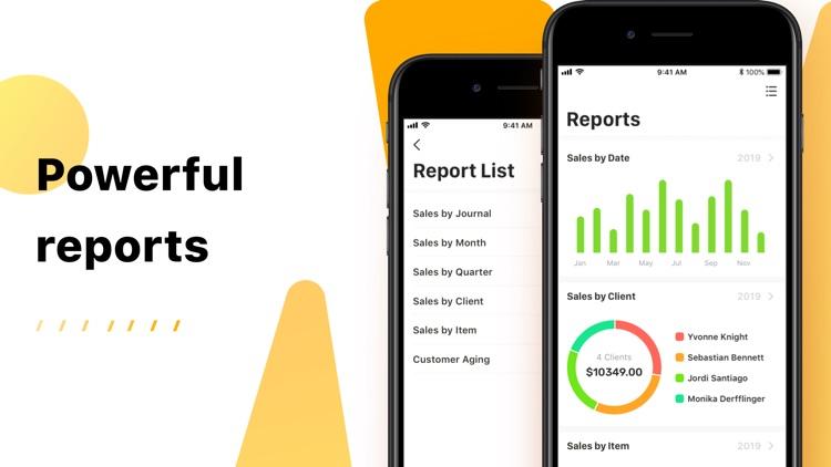 Invoice Now: PDF Invoice Maker screenshot-3