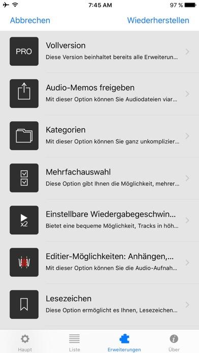 Dictaphone - Audio-RekorderScreenshot von 7