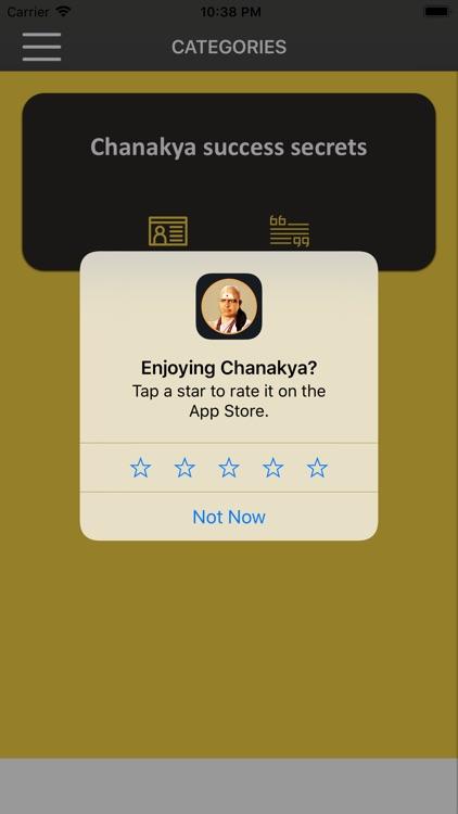 Chanakya wisdom for success screenshot-9