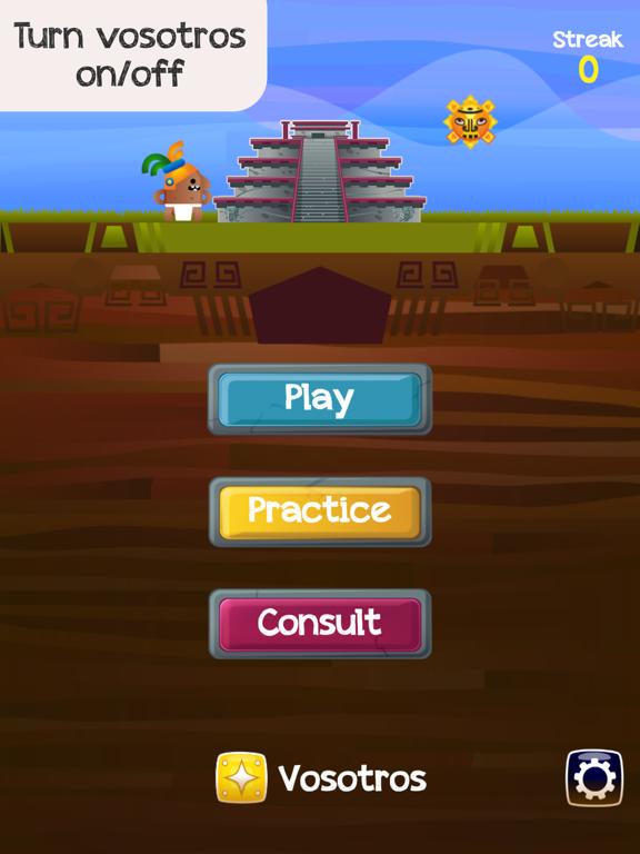 Verb Challenge Spanish screenshot 11
