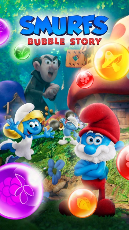 Smurfs Bubble Shooter Story screenshot-8