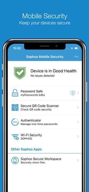 Sophos Mobile Security on the App Store