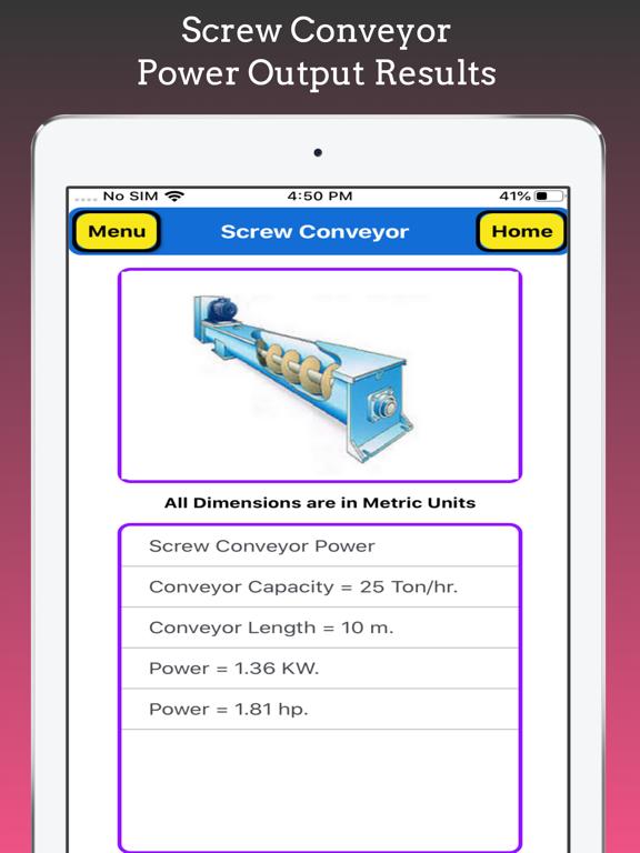 Screw Conveyor Pro screenshot 16