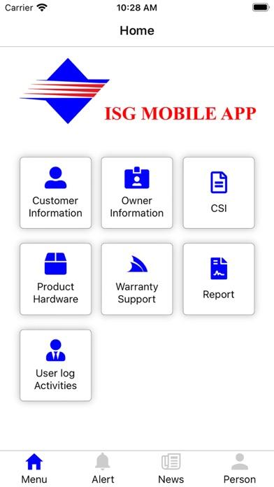 ISG Mobile App для ПК 1