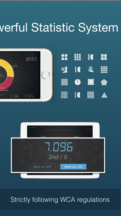 Cutimer Pro: Magic Cube Timer screenshot 2
